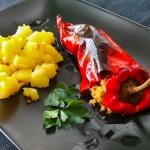 Töltött kápia paprika