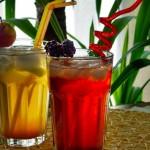 Gyümölcsös házi frissítők